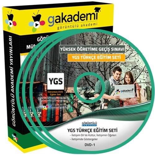 Görüntülü Akademi Ygs Türkçe Konu Anlatımı Ve Soru Çözümlü Görüntülü Eğitim Seti 18 Dvd