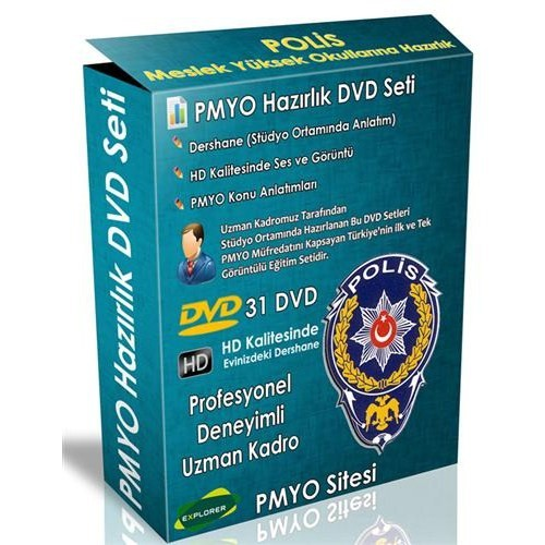 Polis Meslek Yüksek Okullarına Hazırlık Görüntülü Dvd Seti (31 Dvd)
