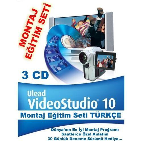 Ulead Videostudıo 10 Montaj Eğitim Seti Türkçe (3 Cd)
