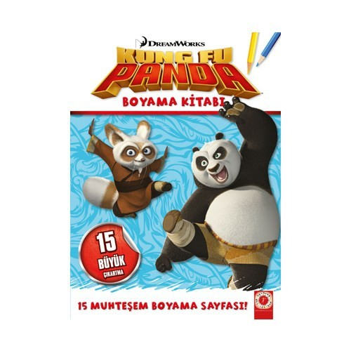 Kung Fu Panda Boyama Kitabı