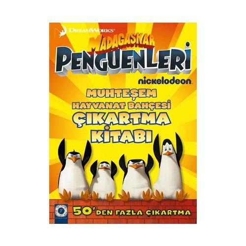 Madagaskar Penguenleri Film Kitabı Muhteşem Hayvanat Bahçesi Çıkartma Kitabı