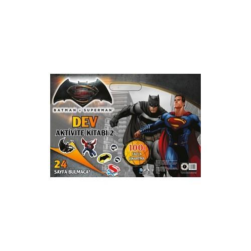 Batman V Superman Dev Aktivite Kitabı 2