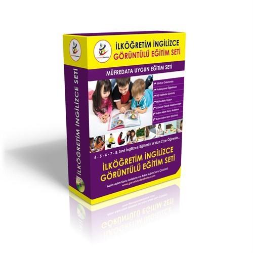 İlköğretim İngilizce Görüntülü DVD Seti Tam Set