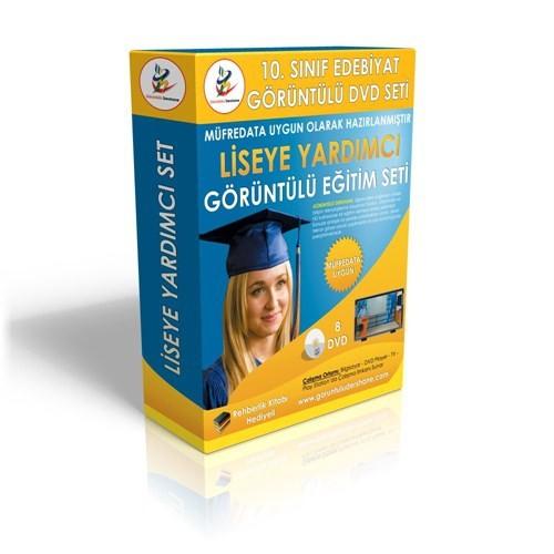 Lise 10. Sınıf Edebiyat Görüntülü Eğitim Seti 8 DVD + Rehberlik Kitabı Hediye