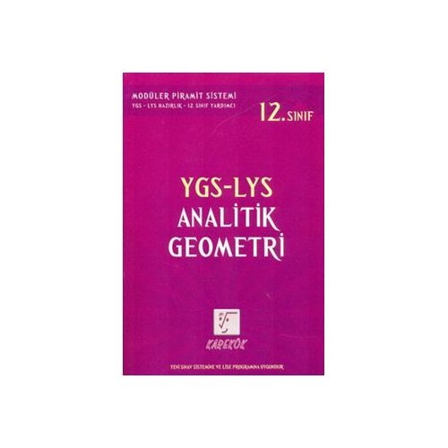 Karekök Ygs-Lys Analitik Geometri (12.Sınıf)