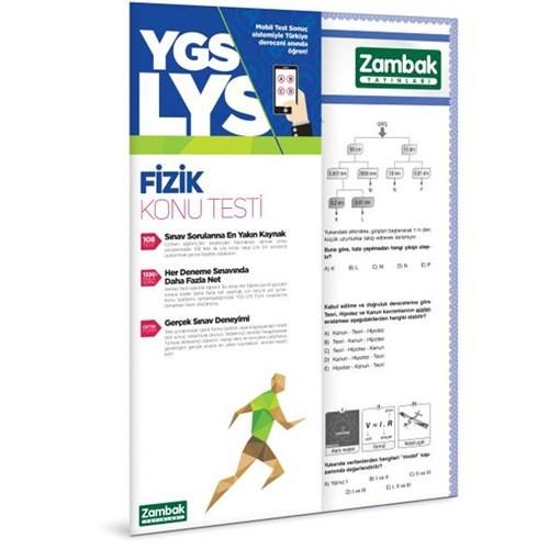 Zambak Yayınları Ygs - Lys Fizik Konu Testi