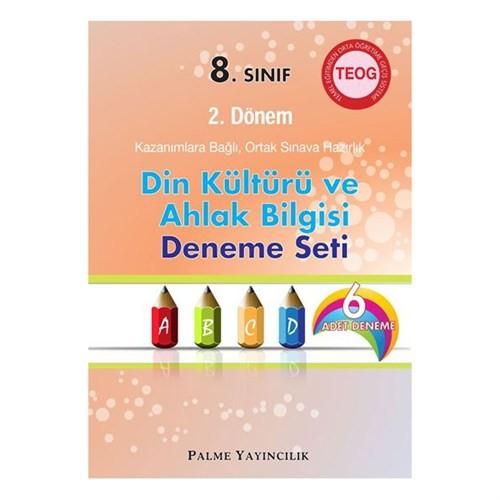 Palme 8. Sınıf Teog - 2 Dönem Din Kültürü Ve Ahlak Bilgisi Deneme Palme Yayınları