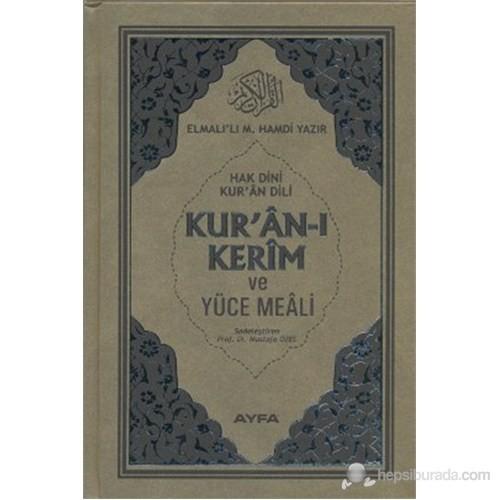 Kur'an-ı Kerim ve Yüce Meali - Hak Dini Kur'an Dili (Orta Boy - 17 Satır - Kod: 113)