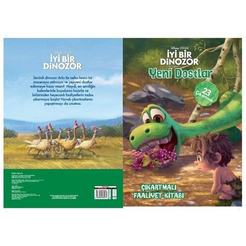 Disney İyi Bir Dinozor Yeni Dostlar Çıkartmalı Faaliyet