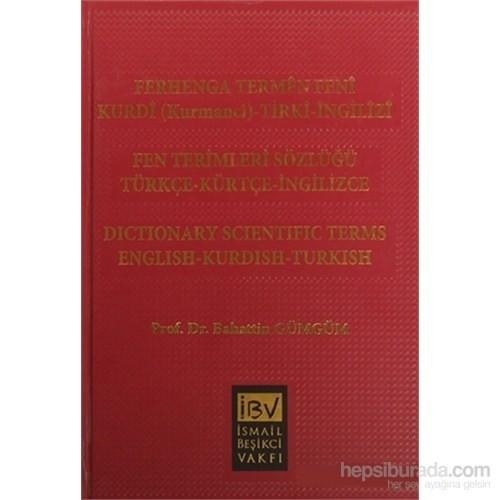 Ferhenga Termen Feni Fen Terimleri Sözlüğü