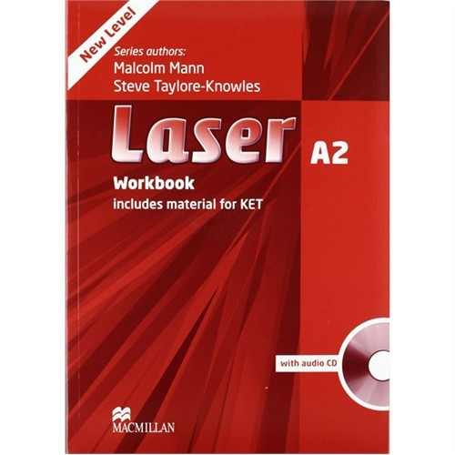Macmillan Laser A2 Workbook Without Key And Cd Pack