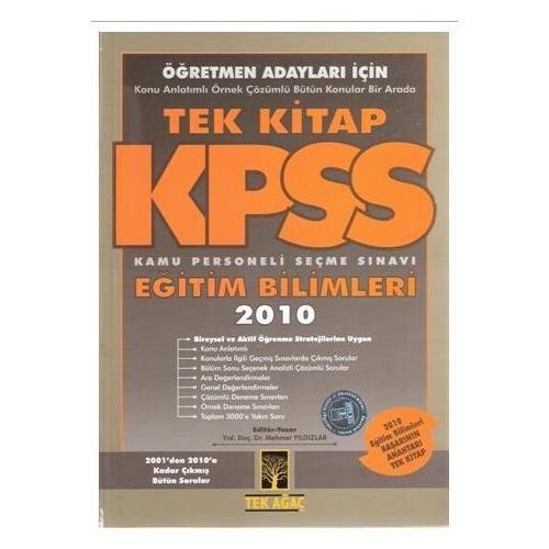 Tekağaç Kpss Eğitim Bilimleri Tek Kitap 2010 (Öğretmen Adayları İçin)