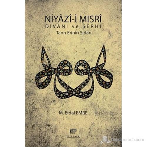 Niyazi-i Mısri Divanı ve Şerhi (Tanrı Erinin Sırları) - M. Efdal Emre