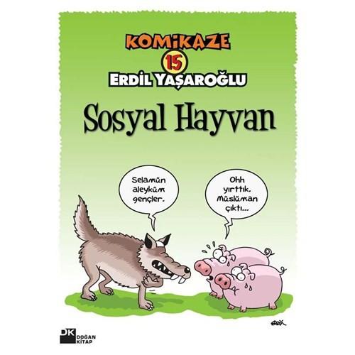 Komikaze 15 - Sosyal Hayvan - Erdil Yaşaroğlu