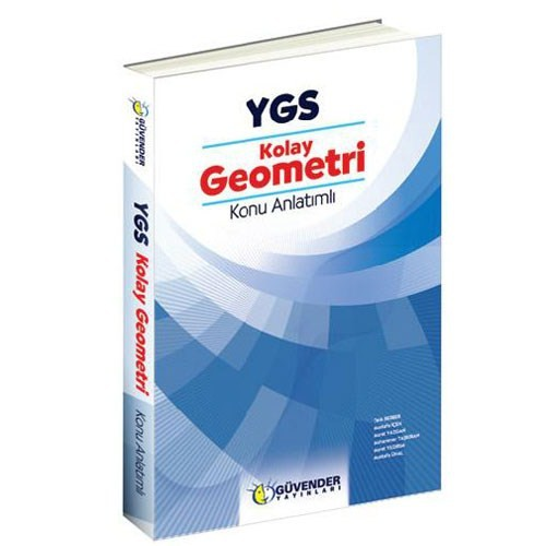 Güvender Ygs Kolay Geometri Konu Anlatımlı