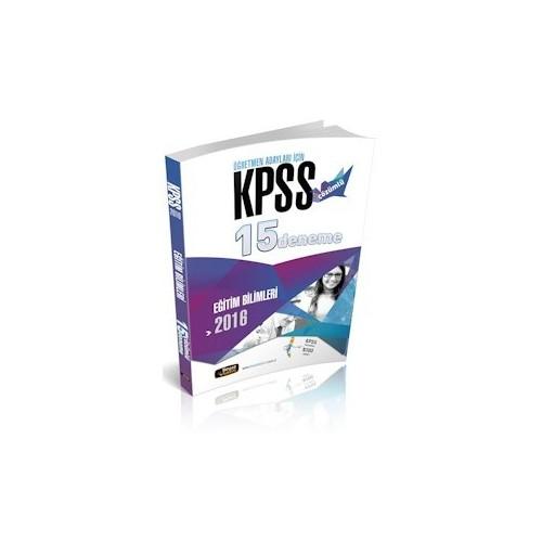 Beyaz Kalem Yayınları Kpss Eğitim Bilimleri Çözümlü 15 Deneme