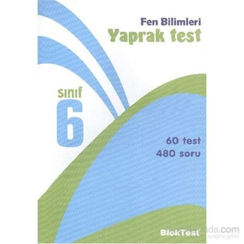 Bloktest 6. Sınıf Fen Ve Teknoloji Yaprak Test