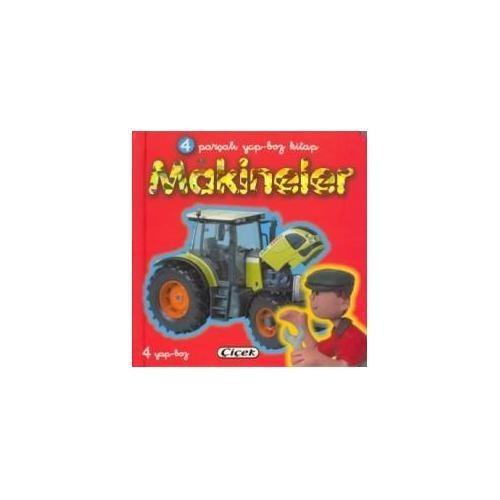 Makineler (4 Parçalı Yapboz Kitap) (Ciltli)