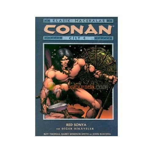 Conan Klasik Maceralar Cilt 4 Red Sonya Ve Diğer Hikayeler