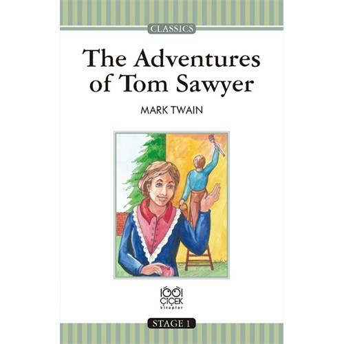 The Adventures Of Tom Sawyer Stage 1 Books-Mark Twain