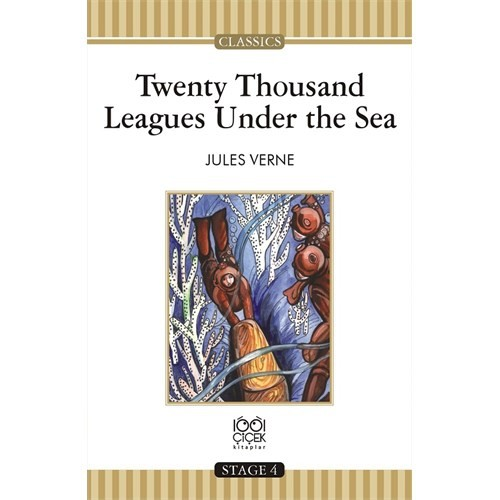 Twenty Thousand Leagues Under The Sea Stage 4 Books-Jules Verne