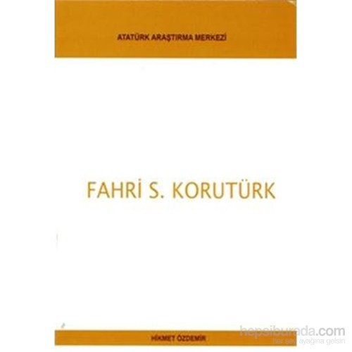 Fahri S. Korutürk-Hikmet Özdemir