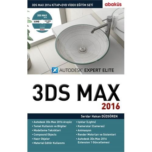 3Ds Max 2016 Eğitim Seti (Kitap Ve 3 Dvd) - Serdar Hakan Düzgören
