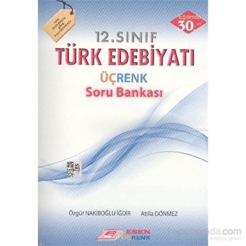 Esen 12. Sınıf Türk Edebiyatı Üçrenk Soru Bankası-Atilla Dönmez