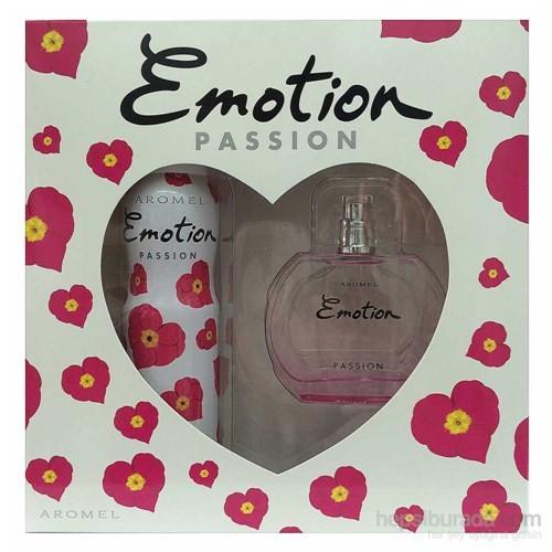 Emotion Passion Edt 50 Ml + Deodorant 150 Ml Kadın Parfüm Set