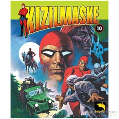 Kızılmaske - Cilt 10