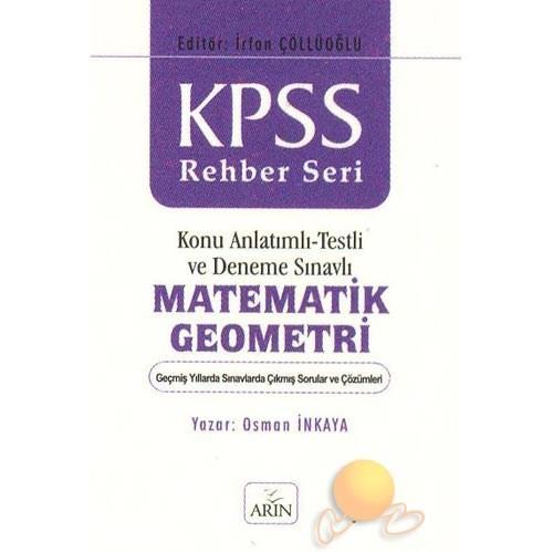 Kpss Konu Anlatımlı - Testli Ve Deneme Sınavlı Matematik Geometri (2 Cilt)