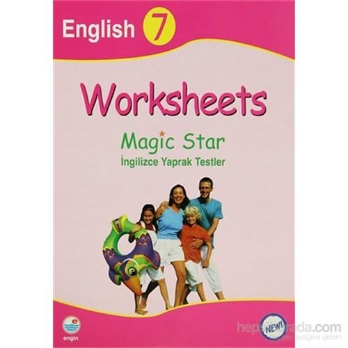 Worksheets - Magic Star İngilizce Yaprak Testleri English 7-Kolektif