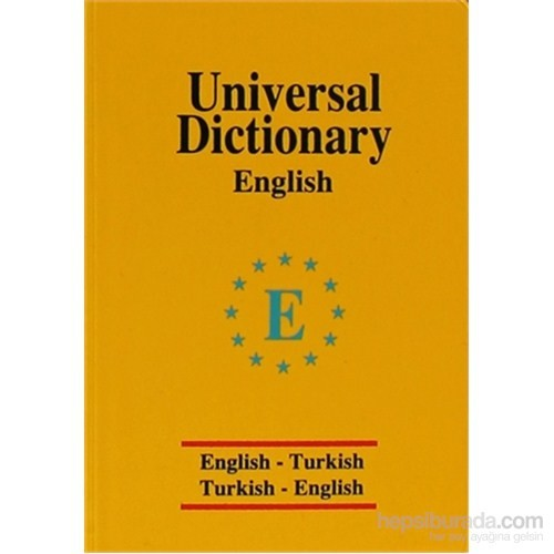 Universal Dictionary English - Turkish / Turkish - English