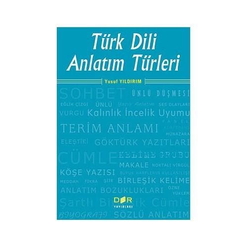 Türk Dili Anlatım Türleri-Yusuf Yıldırım