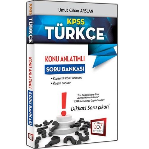 657 Yayınevi Kpss 2016 Türkçe Konu Anlatımlı Soru Bankası