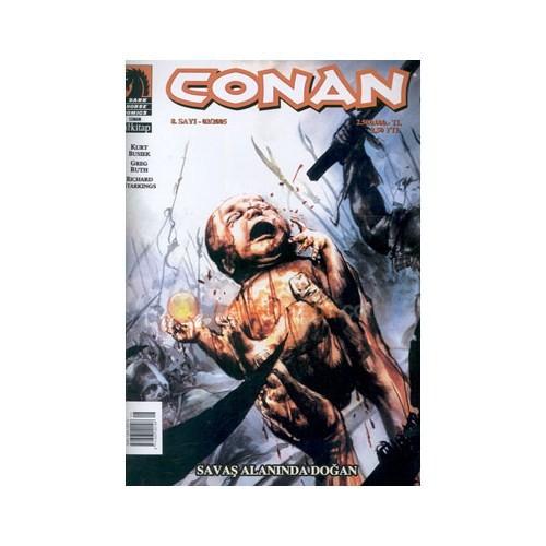 Conan Sayı: 8 Savaş Alanında Doğan