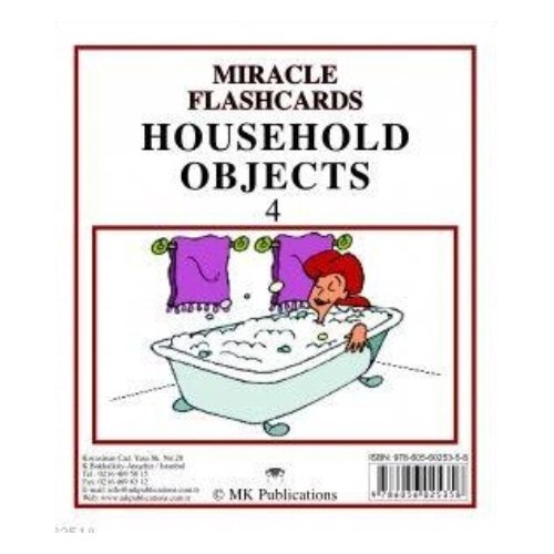 Miracle Flashcards - Household Objects 4
