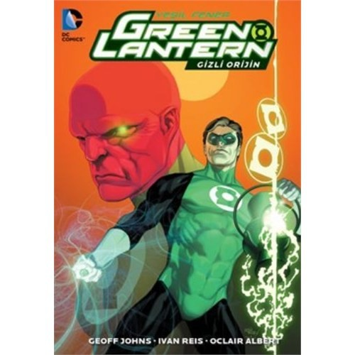 Green Lantern Yeşil Fener Gizli Orijin