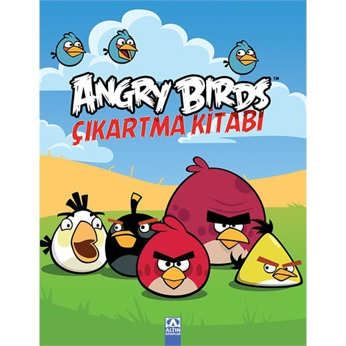 Angry Birds Çıkartma Kitabı - 2-Kolektif