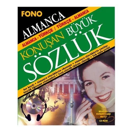 Fono Almanca- Türkçe Türkçe- Almanca Konuşan Büyük Sözlük