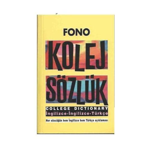 Fono Kolej Sözlük İng/ İng - Türkçe