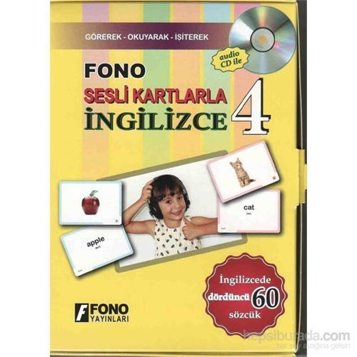 Fono Sesli Kartlarla İngilizce 4 (Cd'li)