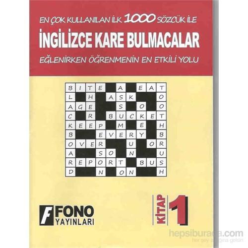 İngilizce Kare Bulmacalar 1
