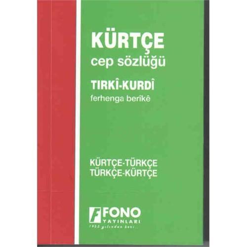 Kürtçe, Türkçe - Türkçe, Kürtçe Standart Sözlük (Cep Sözlüğü)