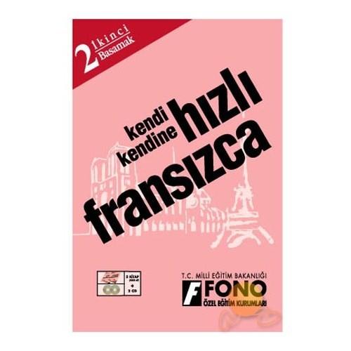 FONO HIZLI FRANSIZCA 2. BASAMAK (2 KİTAP + 2 CD)