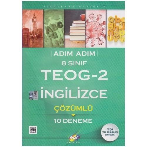 Fdd 8. Sınıf Adım Adım Teog 2 İngilizce Çözümlü 10 Deneme