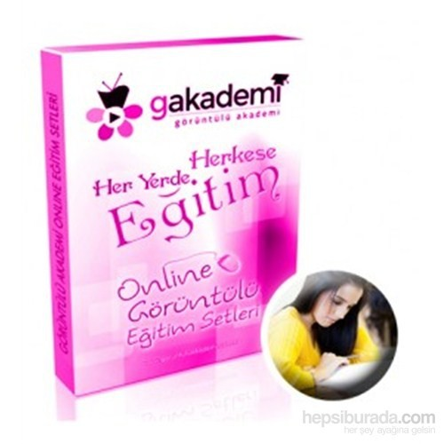 YGS Hazırlık Online Görüntülü Eğitim Seti