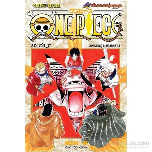One Piece 20 Son Savaş Alubarnada