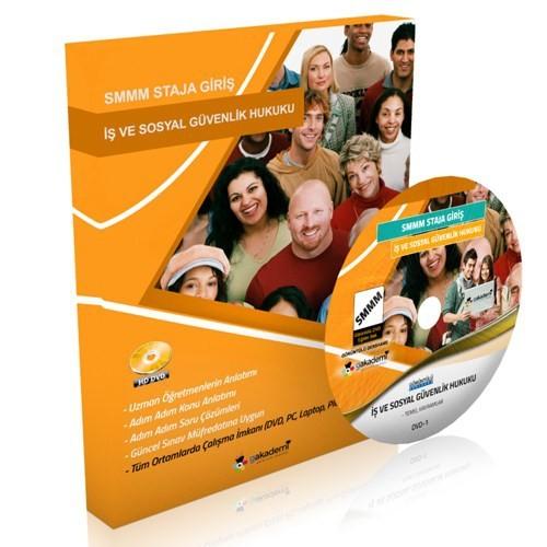Görüntülü Akademi Smmm Staja Giriş İş Ve Sosyal Güvenlik Hukuku Eğitim Seti 5 Dvd