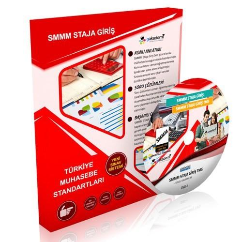 Görüntülü Akademi Smmm Staja Giriş Muhasebe Standartları Eğitim Seti 1 Dvd